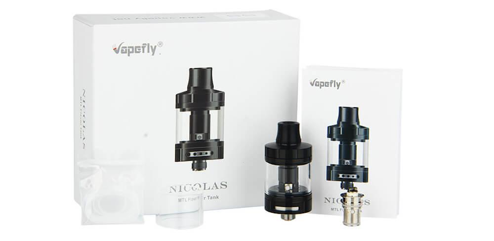 Vapefly Nicolas MTL Sub Ohm Tank - 3ml