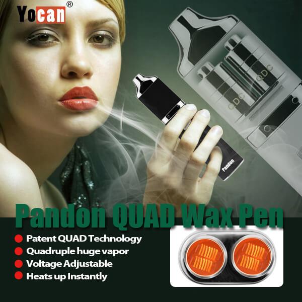 Yocan Pandon vaporizer the Best Portable QUAD Wax Pen