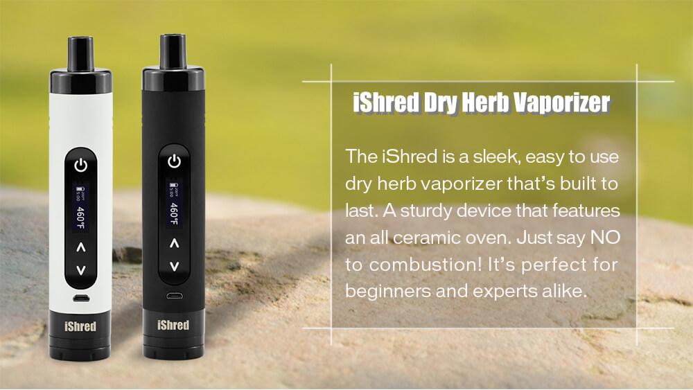 Yocan iShred Dry Herb Vaporizer