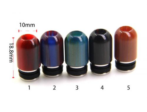 510 Drip Tips Epoxy Resin Small Hole E Cig Atomizer Drip Tips