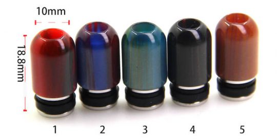 510 Drip tipsEpoxy resin Small hole e cig atomizer Drip tips