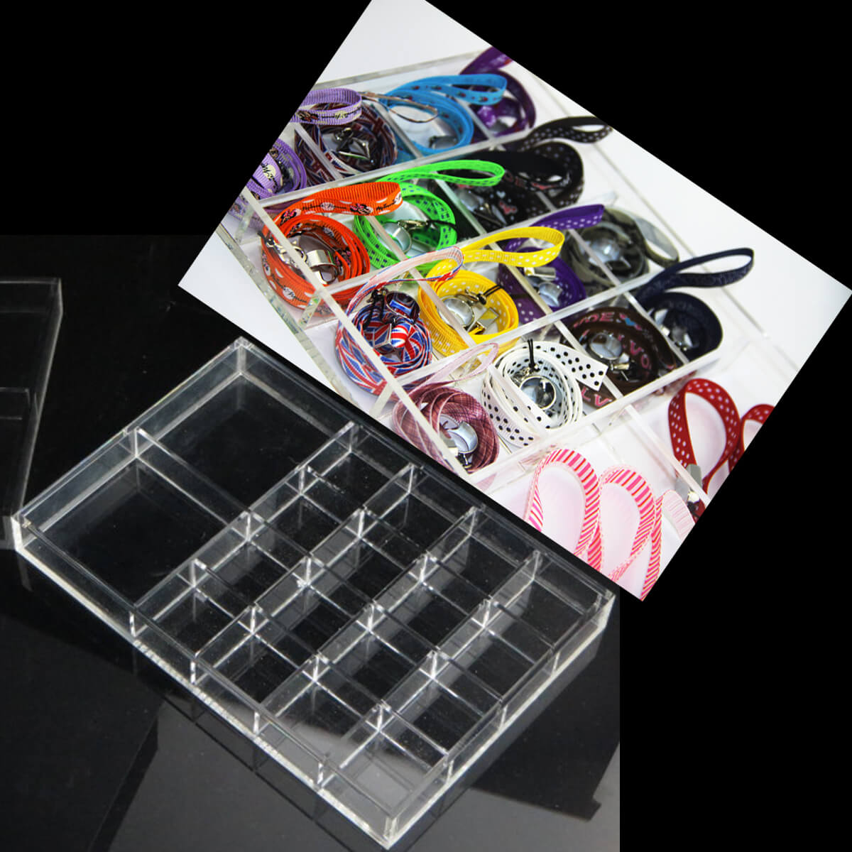 Acrylic Display shelf for E Cigarette accessies