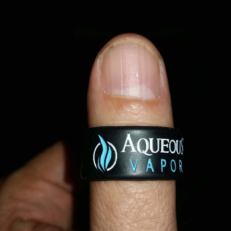 Aqueous vapor silicone ring