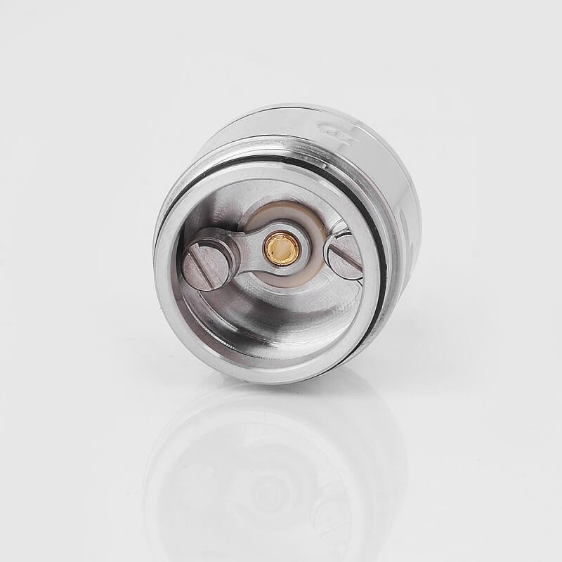 Da Vinci Mods Little Bang Style RDA Rebuildable Dripping Atomizer 24mm Diameter sliver