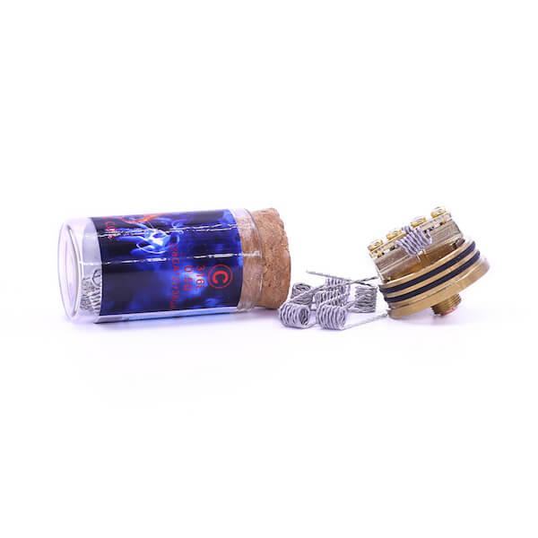 Demon Killer Flame coil C types 316L – 0,5 Ohm – (28GA*2)+38GA