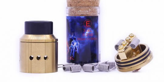 Demon Killer Flame coil E types:316L – 0,25 Ohm – 26GA*2+38GA