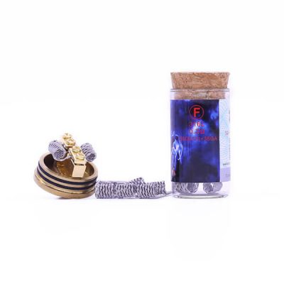 Demon Killer Flame coil F types:316L – 0,3 Ohm – (26GA*2)+38GA