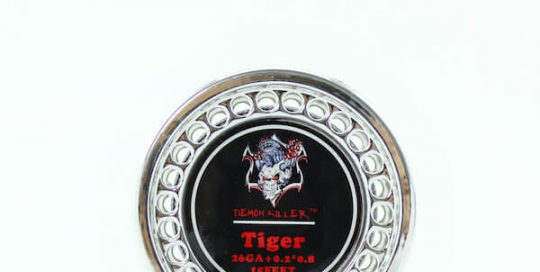 Demon killer Tiger wire 26GA+0.2*0.8 5m/Roll