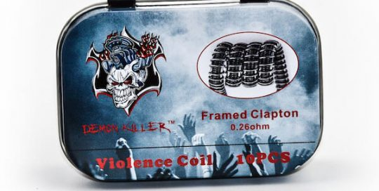 Demon killer Violence Coil Framed Clapton coils