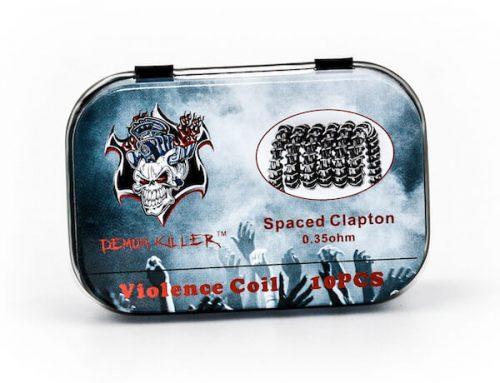 Demon Killer Prebuilt Violence Coil Spaced Clapton Coils 10pcs Pack