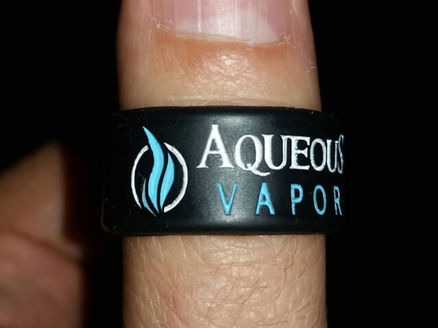 Silicone Ring Aqueous Vapor OEM show 05