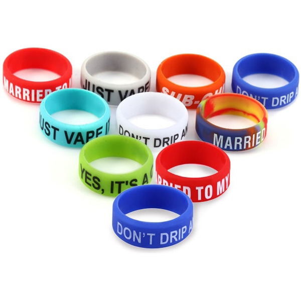 Mod Silicone Ring with non-slip Electronic Cigarette Silicon Vape Ring For Mechanical Mods