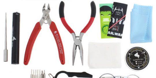 Tornado DIY Tool Kit for Electronic Cigarette RDA RBA Atomizer Mods DIY