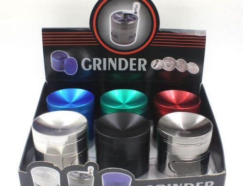 Zinc Alloy Grinder 4 Layer Flat/Concave Bowl Cover 40/50/63mm with Cabinet Door