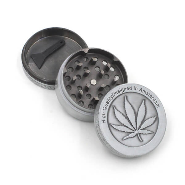Zinc Alloy Herb Grinder 50 mm 3parts