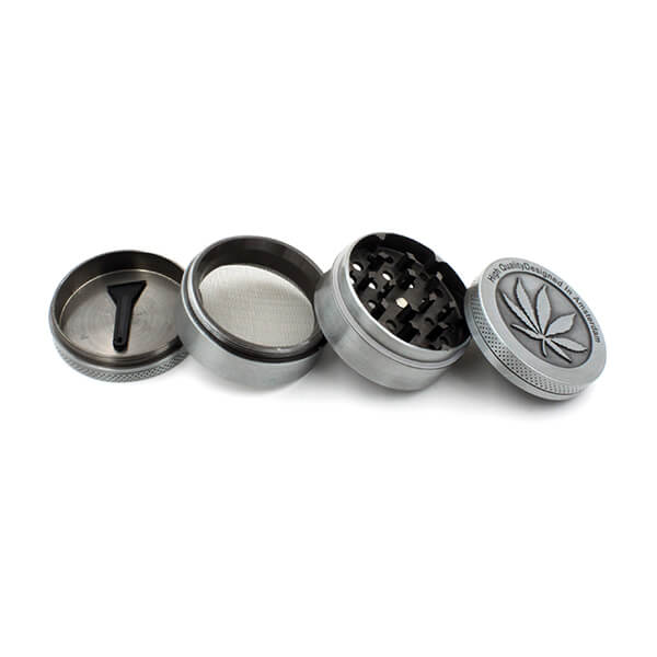 Zinc Alloy Herb Grinder 50 mm 4parts
