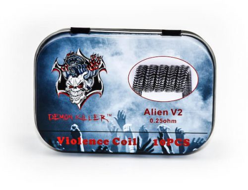 Demon Killer Prebuilt Violence Coil  Alien V2 Coils 10pcs Pack