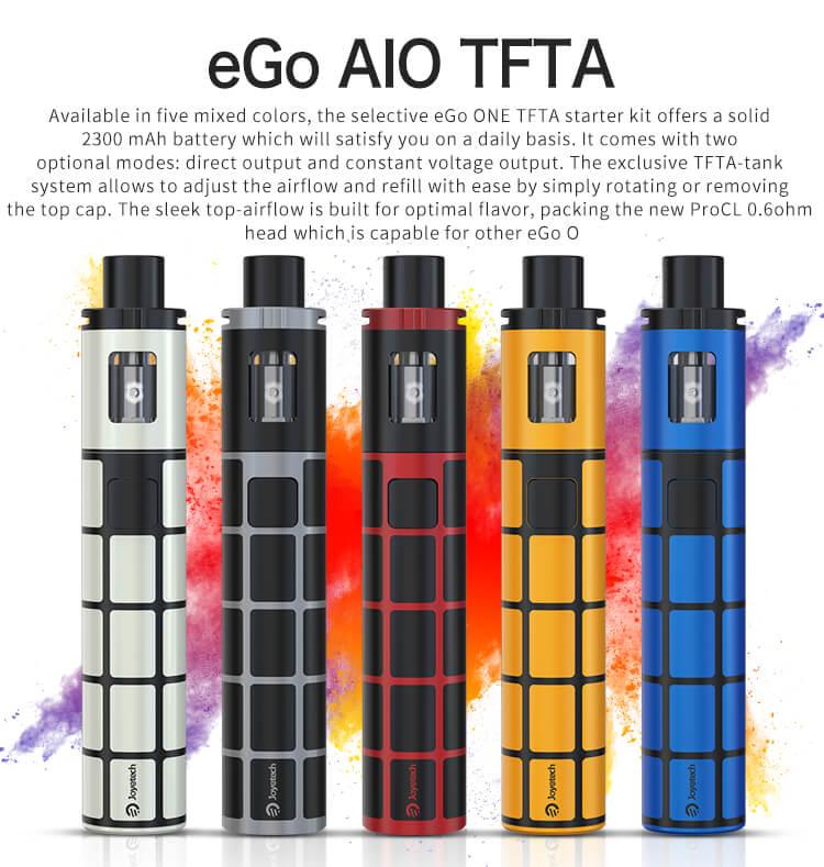 Joyetech eGo ONE TFTA AIO Kit - 2300mAh