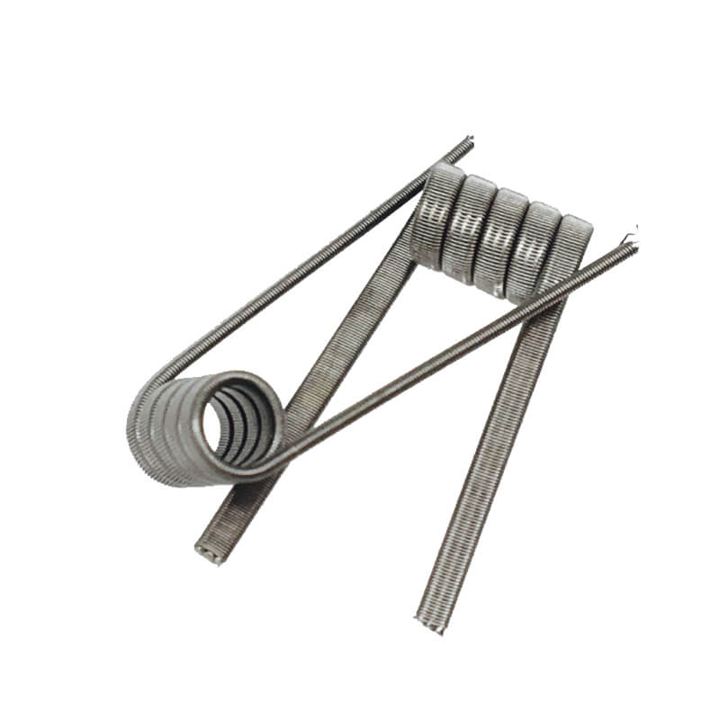 NI80 Nichrome Clapton Triple coils 0.2ohm Premade Wrap Wires Heating for Vape