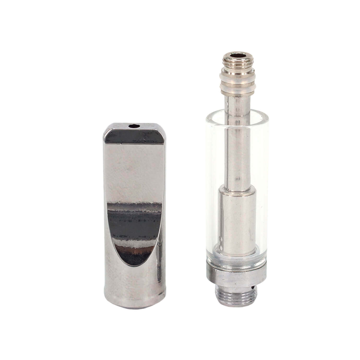 92A3 dual coil glass vaporizer cbd oil cartridge