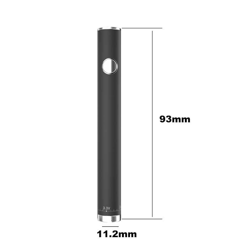 TMECIG TM-B4 Adjust Voltage 3.3 to 3.8V Twisty Battery 11.2*93mm
