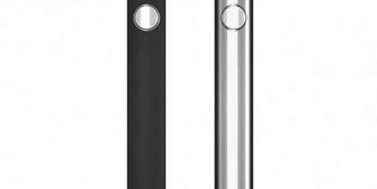 TMECIG TM-B2 CBD-THC Batteries black sliver 001