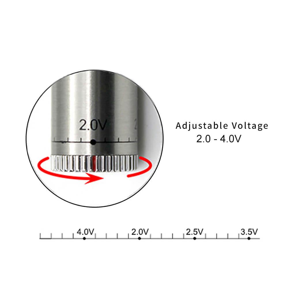 TM-B5 VV Twisty adust voltage Battery 2.0-4.0V black