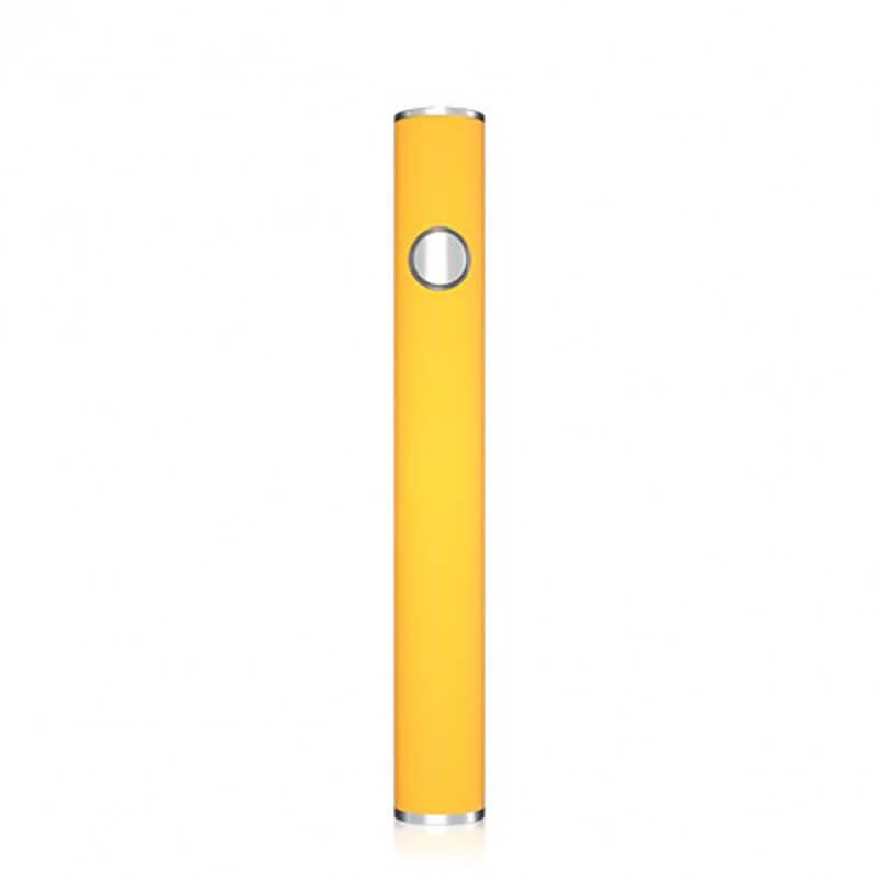 TMECIG TM-B8 Bottom android charging CBD batteries 350mah Yellow