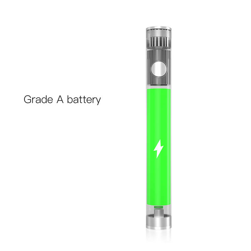 TMECIG TM-B8 Bottom android charging CBD batteries 350mah with Grade A battery cells