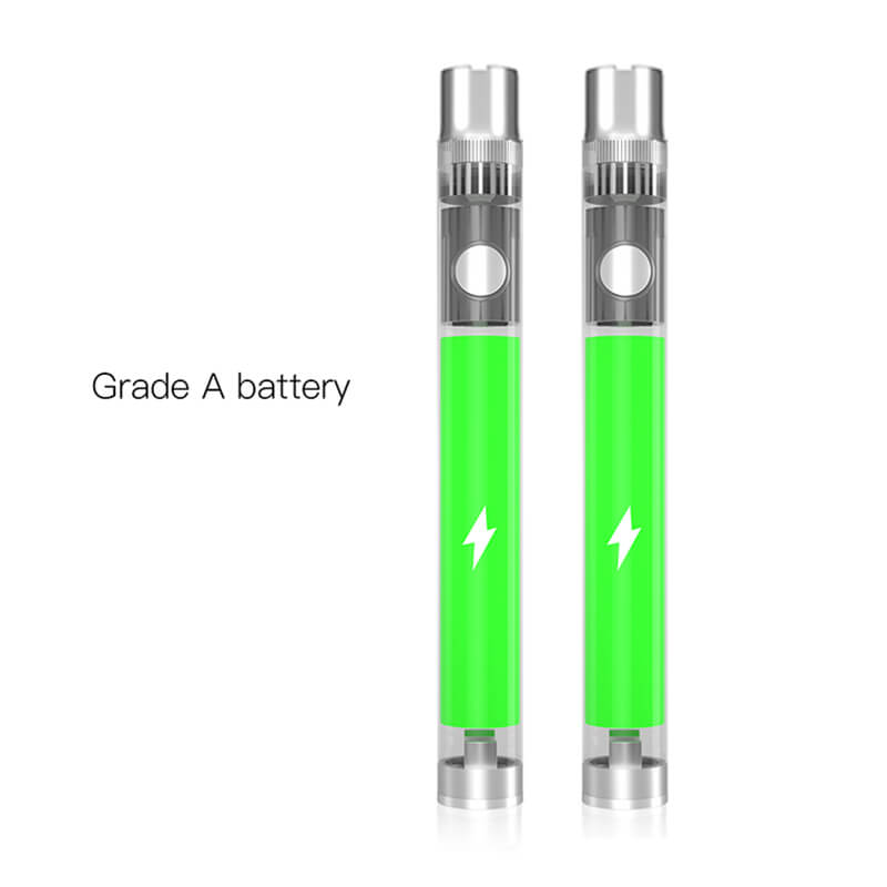 TMECIG TM-B9 CBD batteries 320mah custom battery 10.5mm-92mm with Grade battery cells